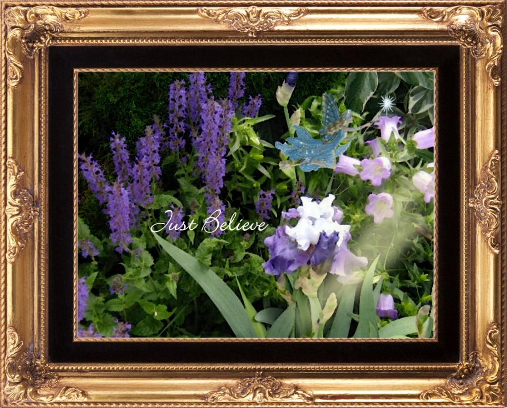 Catherine's purple gift