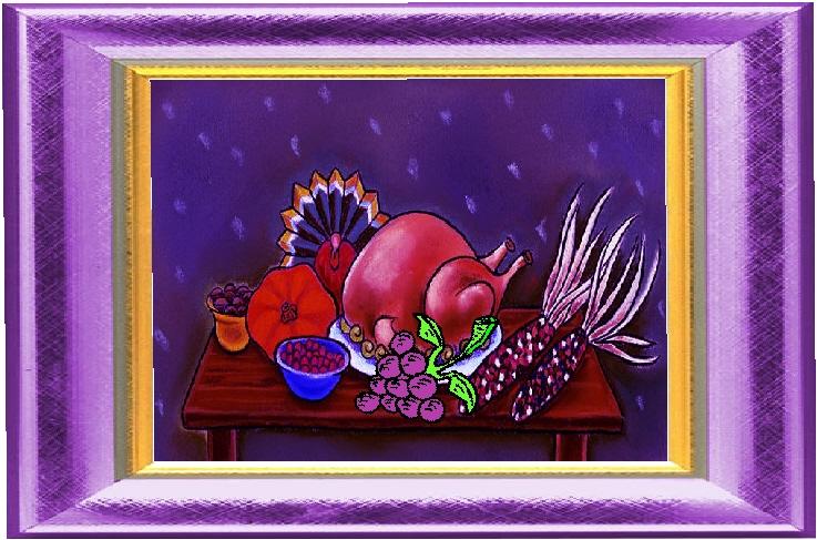 Grape Thanksgiving Dinner