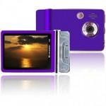 purple camera