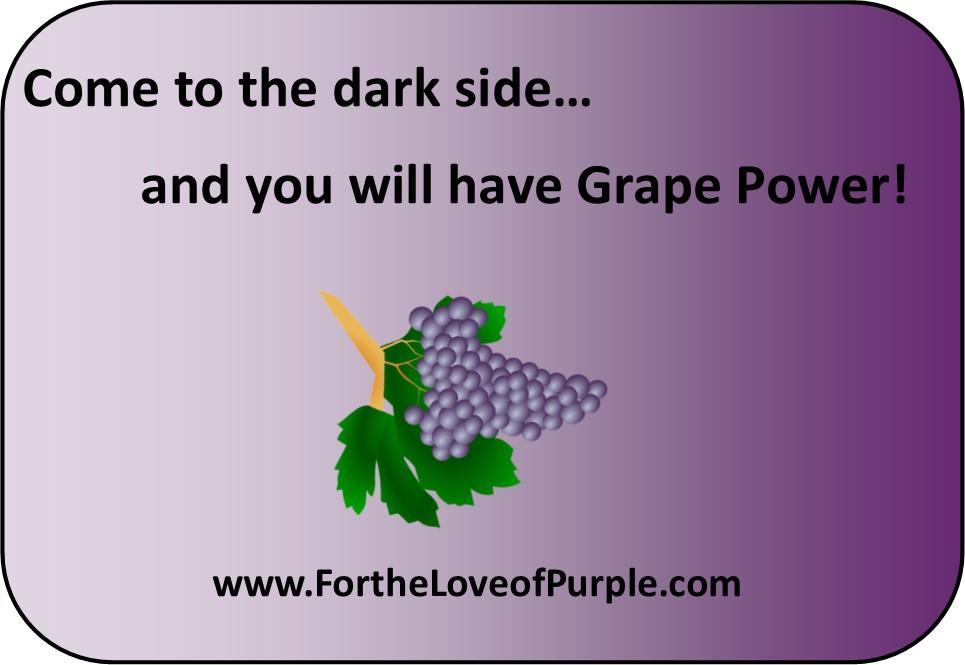 Come to the Dark PURPLE Side…