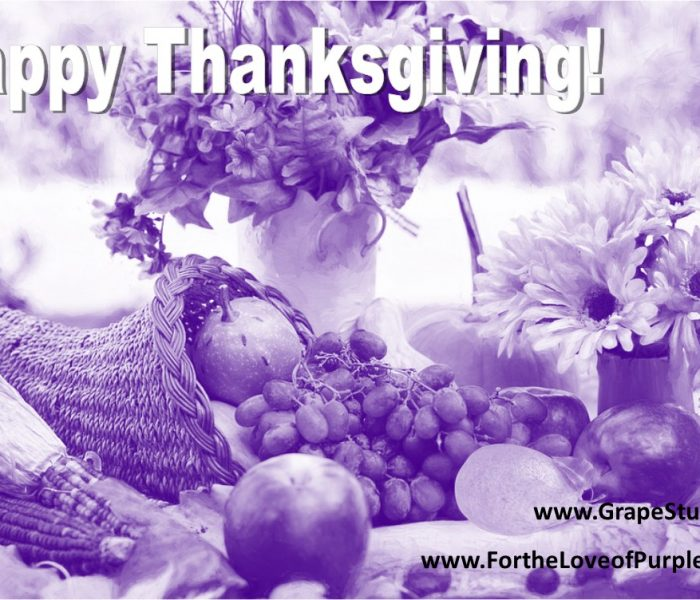 Have a Grape Thanksgiving!