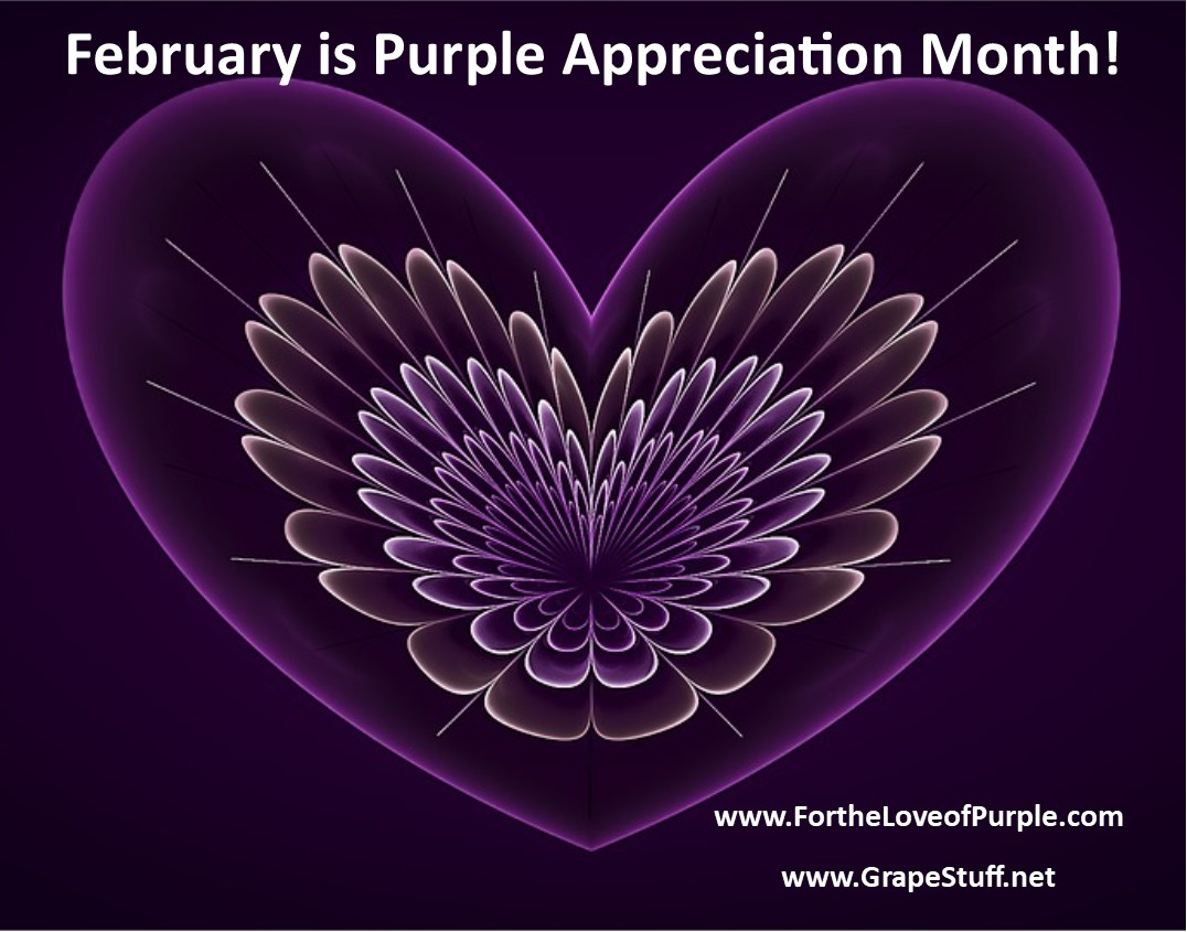 February Was Purple Appreciation Month